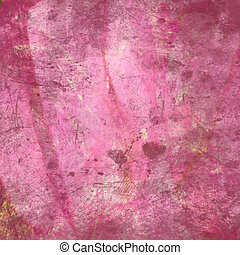 Pink Grunge Abstract Textured Background