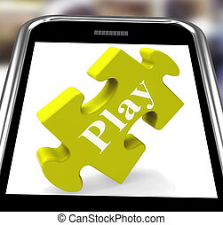 Play Smartphone Means Fun And Games On Web