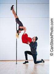 Pole dancers love
