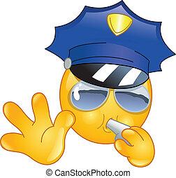 Policeman emoticon