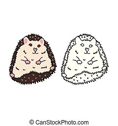 Porcupine or Hedgehog