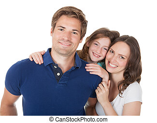 Portrait Of Affectionate Family