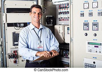 portrait of industrial engineer