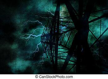 Power Line Grunge
