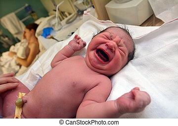 Pregnancy - Newborn baby