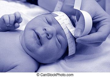 Pregnancy - Newborn baby head circumference