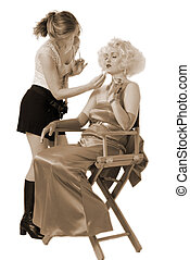 Prepping up Marilyn