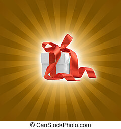 present box with background