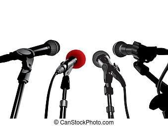 Press Conference (XXL jpeg made from vector)