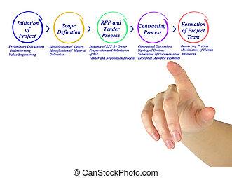 Process of project development