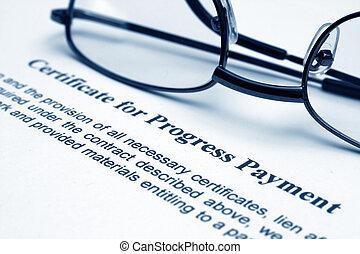 progress payment