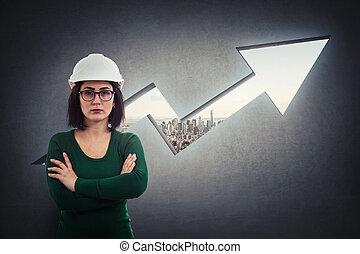 Project development arrow