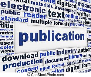Publication poster design