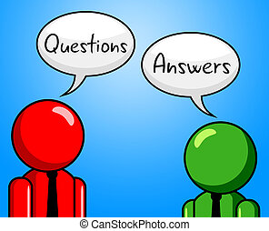 Questions Answers Showing Questioning Info And Faq