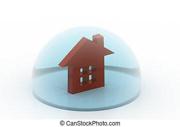 Real estate imagination concept