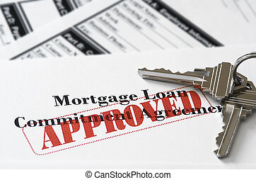Real Estate Mortgage Approved Loan Document