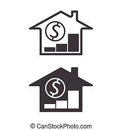 real estate property price grow