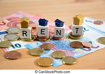 real estate rent concept