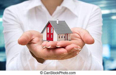 realtor deliver house - real estate