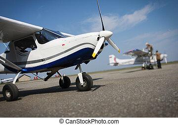 Recreation airplane