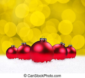 Christmas Holiday Bauble Bulbs