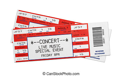 Red Concert Tickets