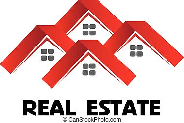Red houses logo