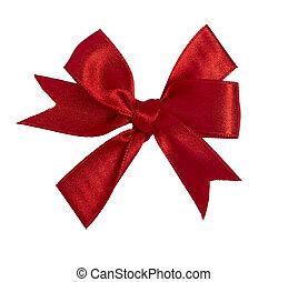 red ribbon celebration christmas birthday