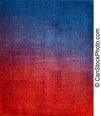 Red to Blue Cloth Background