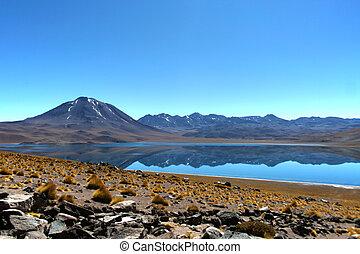 Reflexion Laguna in Chile