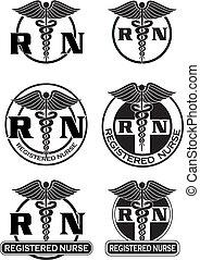 Registered Nurse Designs Graphic