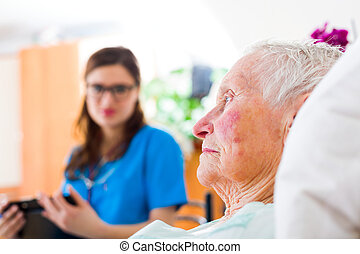 Relying On Home Caregiver