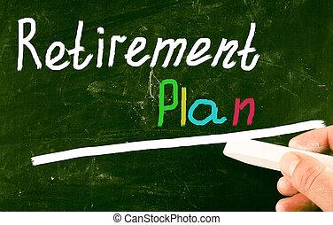 retirement plan concept