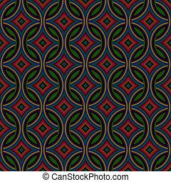 Retro pattern