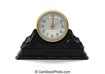 retro sepia clock