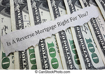 Reverse mortgage question