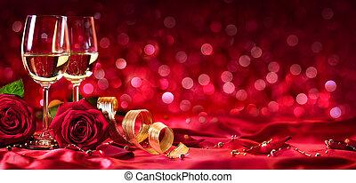 Romantic Celebration Of Valentine's