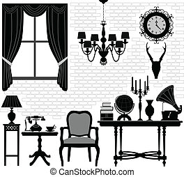 Room Antique Old Hall Furniture