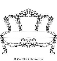Royal Baroque Classic sofa furniture