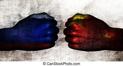 Russia vs China