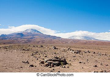 San pedro de Atacama desert landscape, Chile