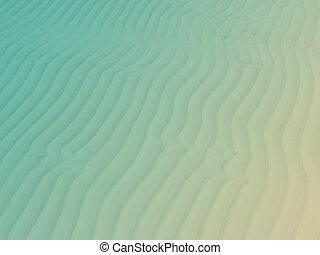 Sandbar exposed at low tide.