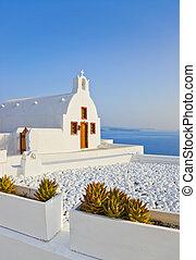 Santorini church (Oia), Greece