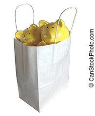 savings in the bag