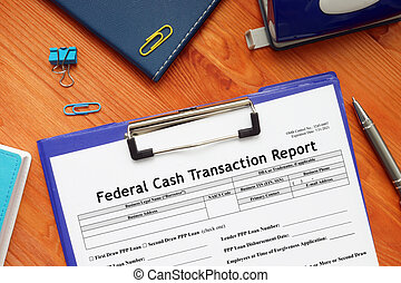 SBA form 272 Federal Cash Transaction Report