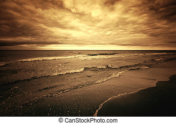 Sea and ocean.