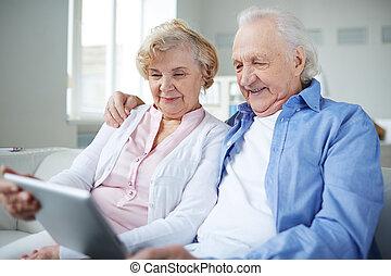 Seniors networking