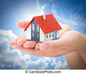 serenity real estate concept