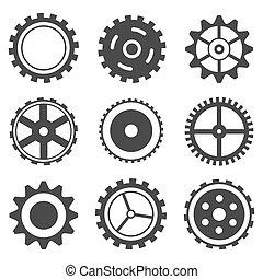 Set of Cog Wheel