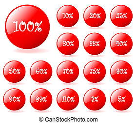 Set of vector aqua style discount buttons with shadow. Easy to edit, any, size. More in my gallery.